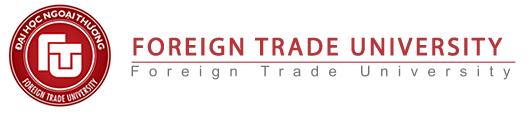 Logo Foreign Trade University